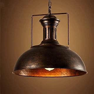 Vintage Industrial Pendant Light, MKLOT 15.75