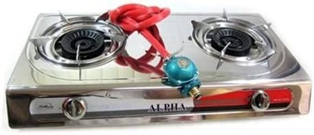 Snow Shop Everything Portable Propane 25% OFF Double Stove Burner Gas OFFicial shop 2