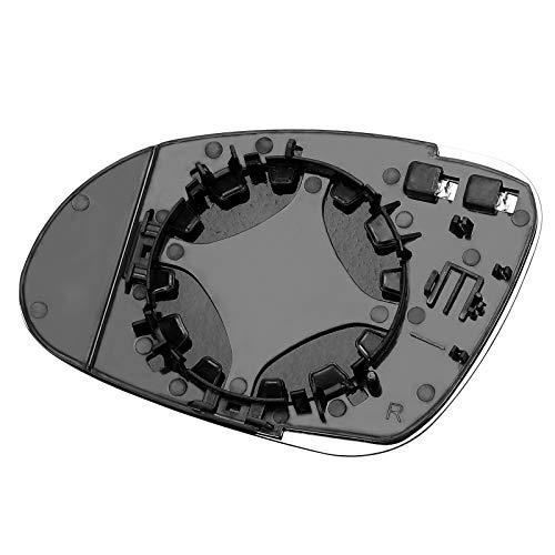 Vokmon di Ricambio per Golf 5 MK5 2005-2009 3C0857522 Destro specchietto Laterale 3C0857522 riscaldata passeggero Laterale Vista Posteriore specchietto retrovisore Specchio di Vetro