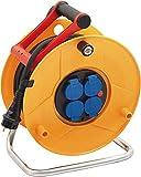 Brennenstuhl enrouleur electrique Standard Pro (câble 25 m, Rallonge Prolongateur...