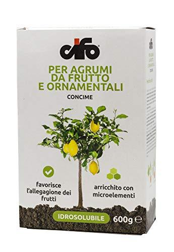 Cifo Concime idrosolubile per agrumi da frutto e ornamentali 600 g