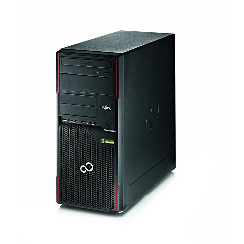 Fujitsu ESPRIMO P910 MT Computer desktop, Intel Core i5, 8GB RAM DDR3, Intel HD Video, 500GB HDD, DVD, Win10Home, Nero (Ricondizionato)