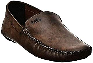 Lee Fox Shoes for Men Casual Loafer LF554 Brown