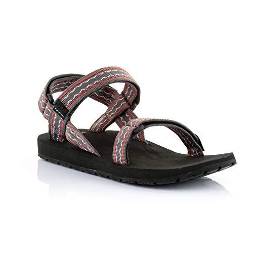 Source Herren Classic Sandale, Oriental Brwon/Red, 37