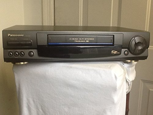 Panasonic PV-9661 VCR Video Cassette Recorder 4-Head Hi-Fi Stereo Omnivision VHS Player, VCRPlus+ 'Silver', VCR Cassette Tape Movies & TV Shows Recorder. Works Great.
