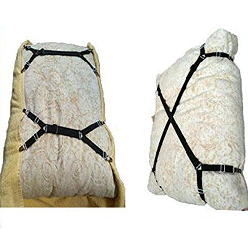 Juecan Bed strakke beha's Clips bandjes bandjes krokante bandjes verstelbare klem steun beha set Clips