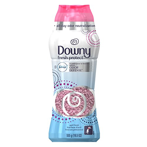 Downy Fresh Protect with with with Febreze, In-Wash Profumo Perline April Fresh, 552,8 g