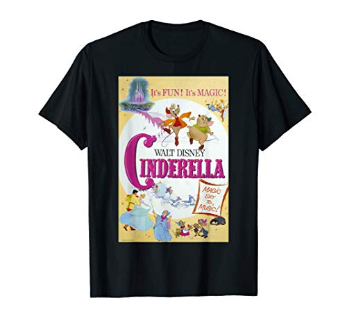 Disney Cinderella Vintage Poster T-Shirt
