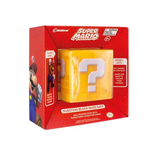 Paladone PP4019NN Super - Figura Decorativa de Mario en 3D, diseño de...