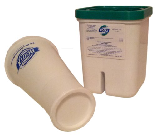 ROOTX - The Root Intrusion Solution Kit - 4 Pound Container Plus Funnel - Bundle 2 Items