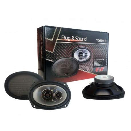 Plug & Sound luidspreker ovaal voor auto 200 W 6 inch x 9 inch Art. Sp164