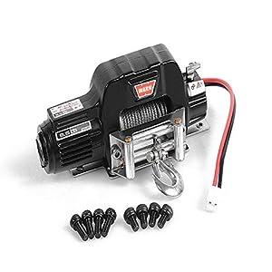 Coche de Escalada Winch, Metal Control El¨¦ctrico Sistema de Control Remoto del Coche Piezas Accesorios para coche para camión 1/10 TRX-4, axial SCX10 RC4WD D90 D10