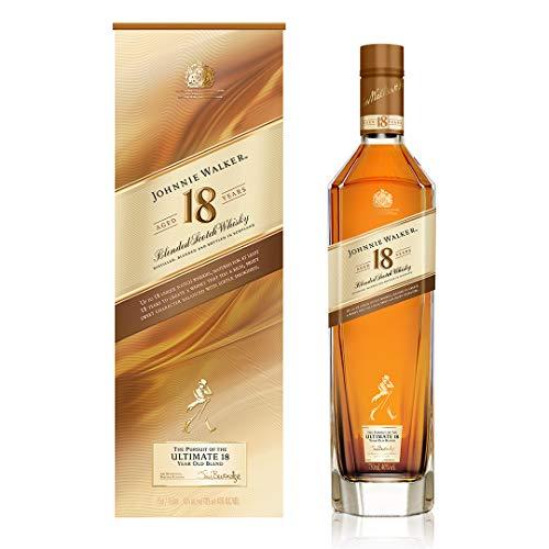 Johnnie Walker 18 Años Whisky Escocés, 700ml