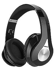 ♫ SON STÉRÉO ET DE HAUTE FIDÉLITÉ: Le Mpow 059 est doté d'un aimant d'entraînement de 40 mm et de la puce CSR améliorant considérablement l'effet stéréo et de haute fidélité, Il vous offre une bonne protection pour vos oreilles et vous amène dans un ...