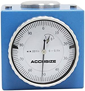 Accusize Industrial Tools 0-0.1'' X 0.001'' Z Axis Zero Setting in Fitted Box, 0801-0301