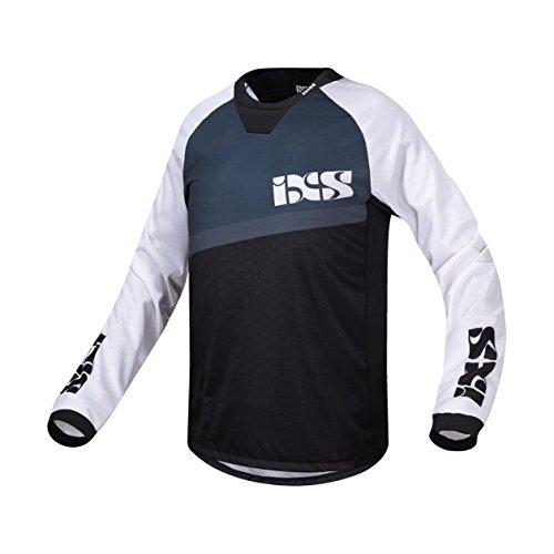 IXS Herren Pivot 7.1 DH Jersey, White/Black, L