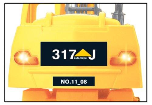 RC Auto kaufen Baufahrzeug Bild 3: Jamara 403790 - RC Bagger 317J 1:24 3 Kanal inklusive Fernsteuerung*