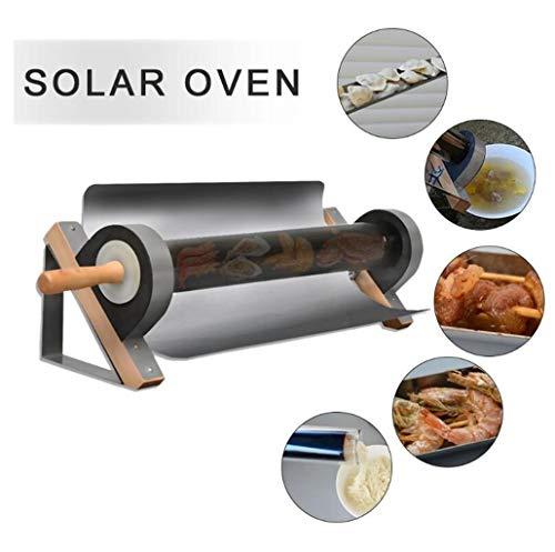 ZSYDS Horno Solar portátil Multifuncional Estufa Cocina Solar Paquete Sopa de ebullición de la máquina Ideal for Acampar Barbacoa (Color : Gray)