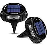 URPOWER Solar Lights, Waterproof Solar Lights Outdoor 2-in-1...