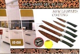NEW Leopard–Set di coltelli 6pezzi in regali di alta qualità
