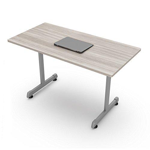 Línea Italia Escritorio para computadora Color Gris Ceniza Ideal como Mesa de Centro en Oficina o...