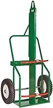 "Sumner 782444 209-16FB-LF Double Cylinder Cart, Medium Range, High Rail with Lifting Eye and Firewall, 16"" Flat Free Wheel"