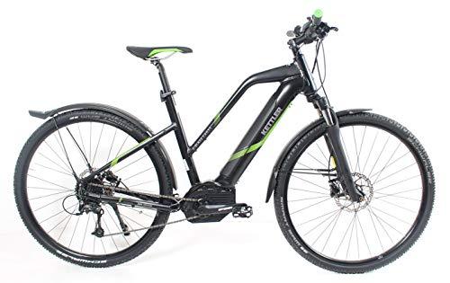 Damen E-Bike 28 Zoll schwarz/grün - Kettler E-Blaze Cross Elektrofahrrad - Bosch Performance Line CX Motor, 500 Wh Akku