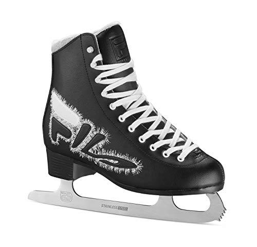 FILA Skates Eve Logo, Rollschuhe, Unisex, Erwachsene, Schwarz/Weiß, 38