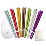 Set of 10/14/16 Earwax Candles Cones Hollow Blend Cones Beeswax Ear Cleaning Hearing Massage Ear Candles Wax Removal Cones Natural Ear Candles Wax Removal Beeswax Earwax Cleaners (14PC, A)