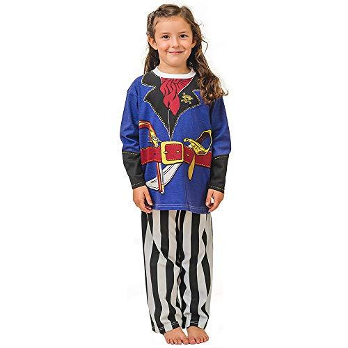 Pijama de Pirata y Ropa Casera Divertida (5-6 Anõs)