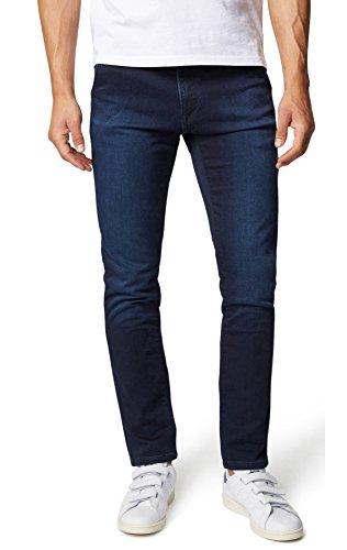 WOTEGA Herren Sweathose in Jeans-Look Dexter Slim, Navy Blazer (3923), W31/L32