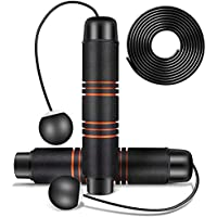 Yisinar Weighted Adjustable Cordless Speed Skipping Rope