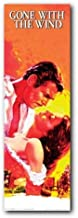 (12x36) Gone with the Wind Rhett Butler and Scarlett O'Hara Embrace Movie Poster Print