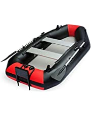Barco Inflable 2-Persona con Motor eléctrico Inflable Kayak Canadiense Canoa, Kayak de mar, Inflable, 200 x 120 cm DDLS