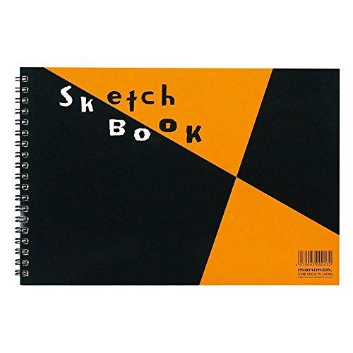 マルマン スケッチブック 図案印刷シリーズ B5(172×250mm) 並口画用紙 24枚 S140