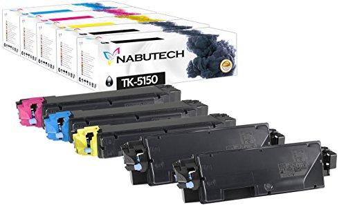 5 Original Nabutech Toner kompatibel zu Kyocera TK-5150 für kyocera ecosys M6035cidn M6535cidn P6035cdn P6035 M6535 M6035cdn