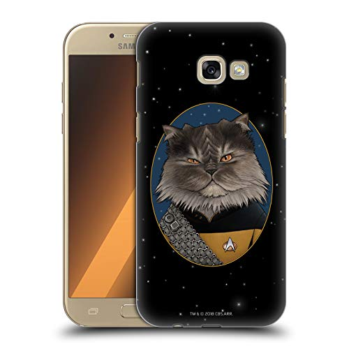 Head Case Designs Licenza Ufficiale Star Trek Worf Gatti TNG Cover Dura per Parte Posteriore Compatibile con Samsung Galaxy A5 (2017)