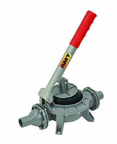 AMT Pump HP01-99 Hand Diaphragm Pump, Plastic, 1' Smooth Hose Inlet/Outlet