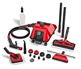 Sargent Steam Cleaner Cleaning System - Multi-Purpose, High Pressure, Vapor Steamer Machine - Best for Commercial, Industrial, Home or Car Detail - Portable, Heavy Duty Cleaner - No Harsh Chemicals