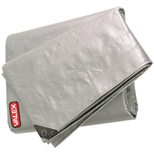 Valex - Bache Industrielle Impermeable 5X4M Avec Oeillets - 220Gr/M2 - Angles Renforces