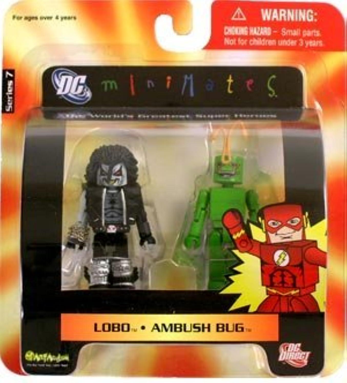 DC Universe MiniMates Wave 7 Lobo & Ambush Bug by Diamond Select