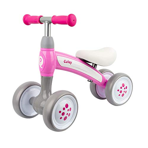 QPLAY - Correpasillos Cutey - Ideal para bebés de 1 a 3 años - Rosa