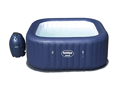 Bestway 60022E SaluSpa Hawaii 71-Inch x 26-Inch 6 Person Outdoor Inflatable Hot Tub Spa with Air...