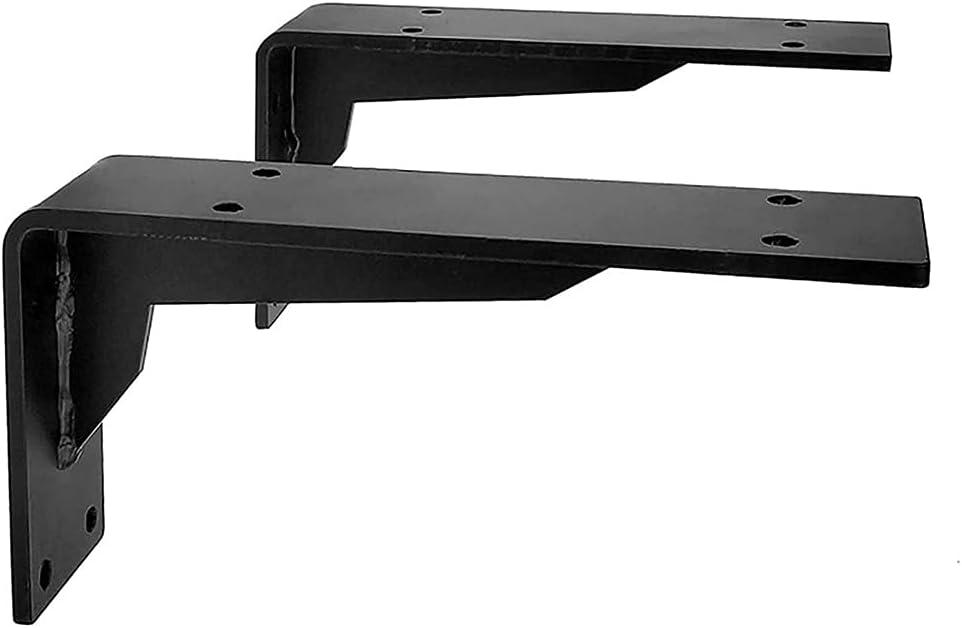 Popular standard JUULLN 2PCS Industrial L sale Shelf Wall Duty Mounted Heavy Brackets