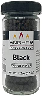 Kampot Pepper Rare Cambodian Peppercorns (Black, Spice Jar)