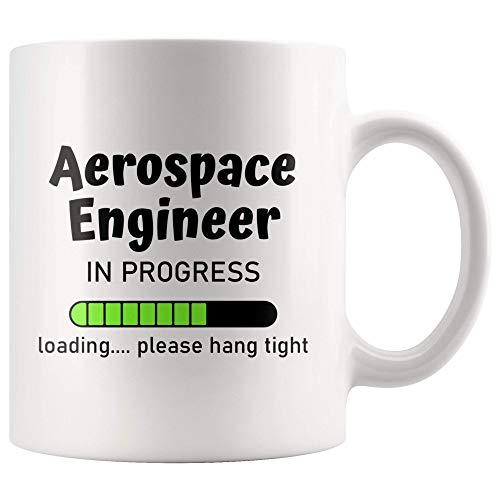 N\A Ingeniero aeroespacial Idea de Regalo Regalo de Ingeniero Graduación de Ingeniero aeroespacial Regalo de Ingeniero Ingeniero aeroespacial en Progreso Mejor Ingeniero Taza