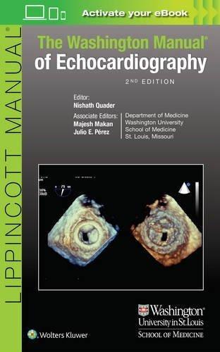 The Washington Manual of Echocardiography by Nishath Quader M.D. (2016-07-27)