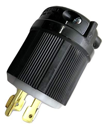 NEMA L14-20 Plug. 20A 125/250VOLT. 3-Pole. 4-Wire. Locking. Grounding Plug