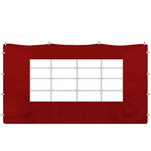 jarolift Partie latérale pour pavillon | Fenêtre | 295 x 195cm | Bordeaux