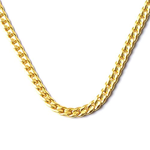 PRIMAGOLD(プリマゴールド) 純金 メンズ 6面カット 喜平ネックレス K24 24金ジュエリー